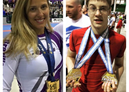 Melissa Myers and Robin Solsberry to compete at the World Jiu-Jitsu No-Gi IBJJF Championship